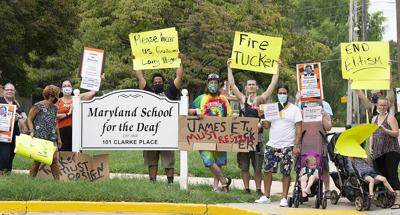 MSD Protest