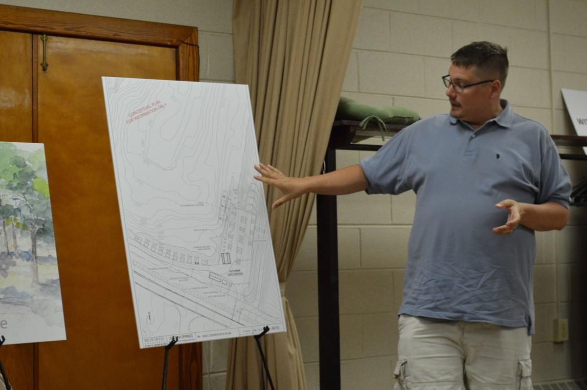 Proposed scuba diving, recreational facility