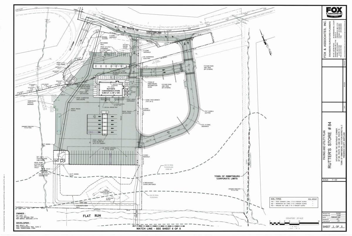 Rutter's Site Plan