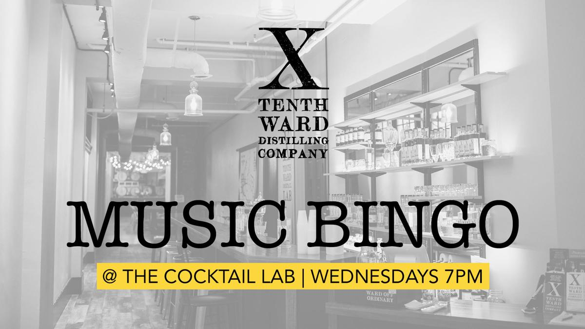 Music Bingo at Tenth Ward - Every Wednesday Night 7-9pm