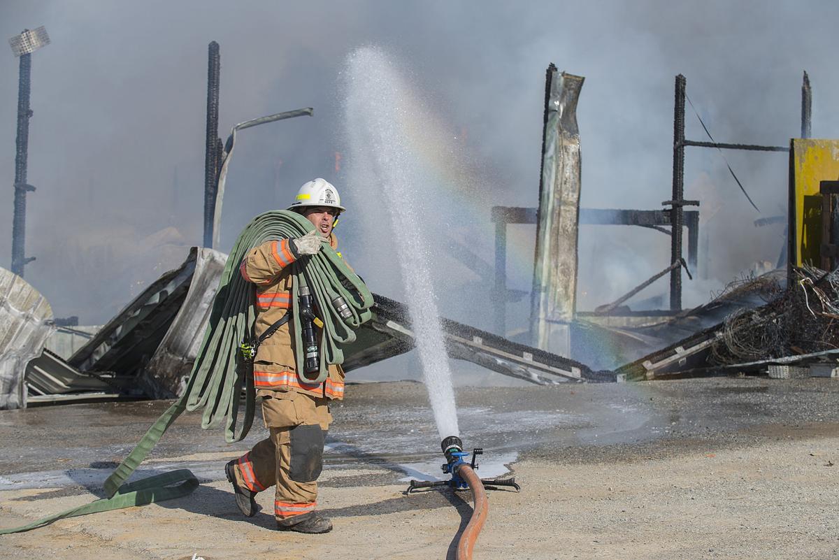 BG Waverly Barn Fire - CD