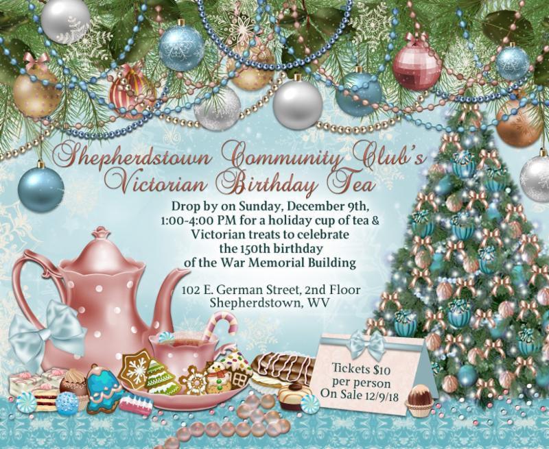 Shepherdstown Community Club\'s Victorian Birthday Tea | Other ...
