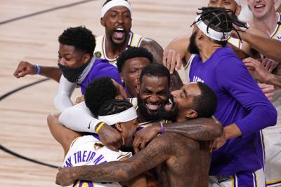 APTOPIX NBA Finals Lakers Heat Basketball