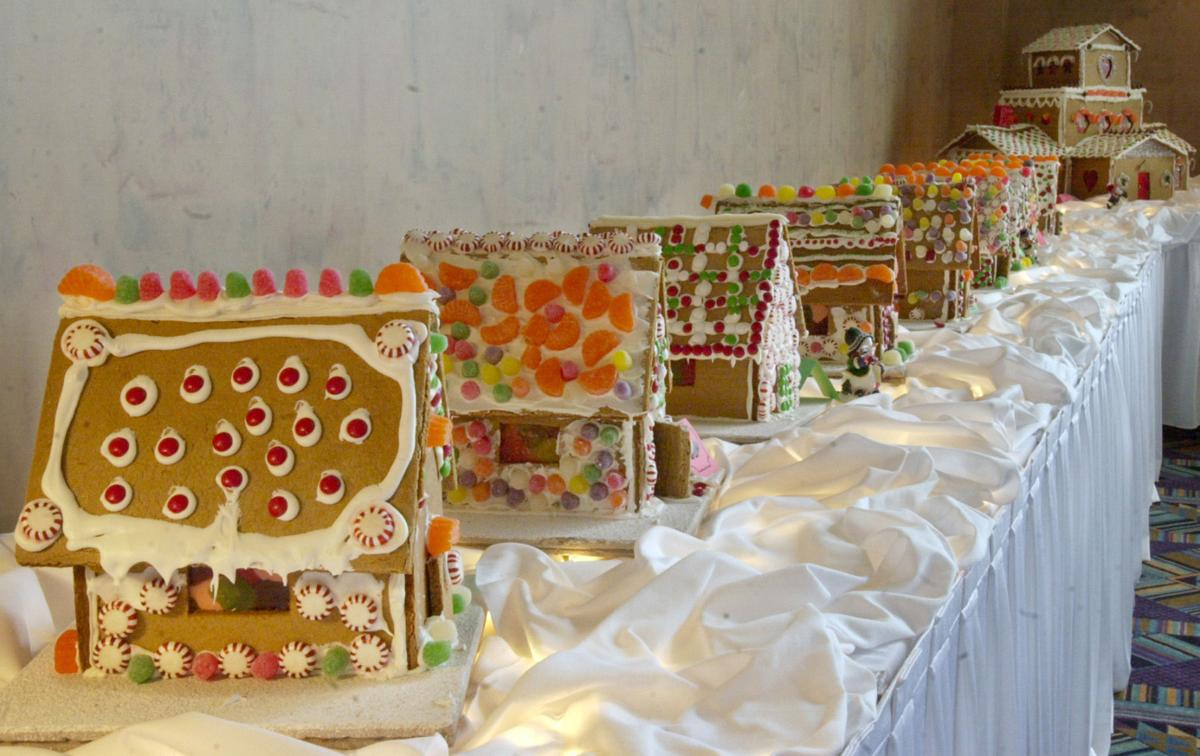 Food Gingerbread Houses