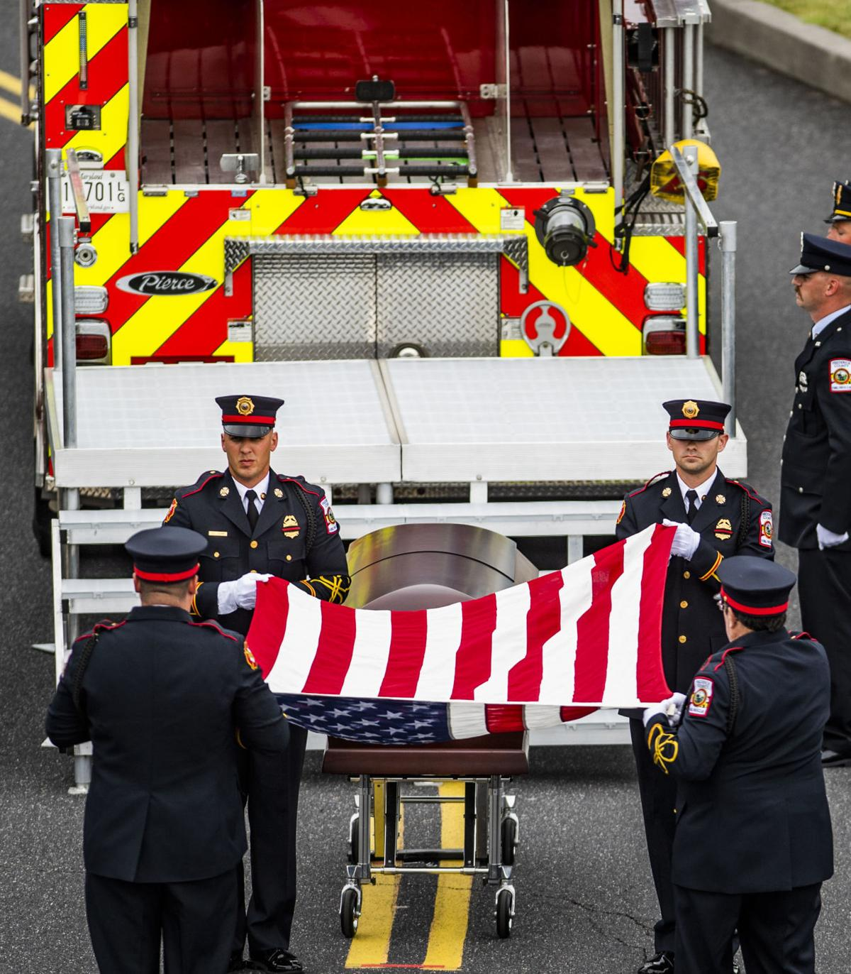 Funeral Service of Chief Joshua Laird