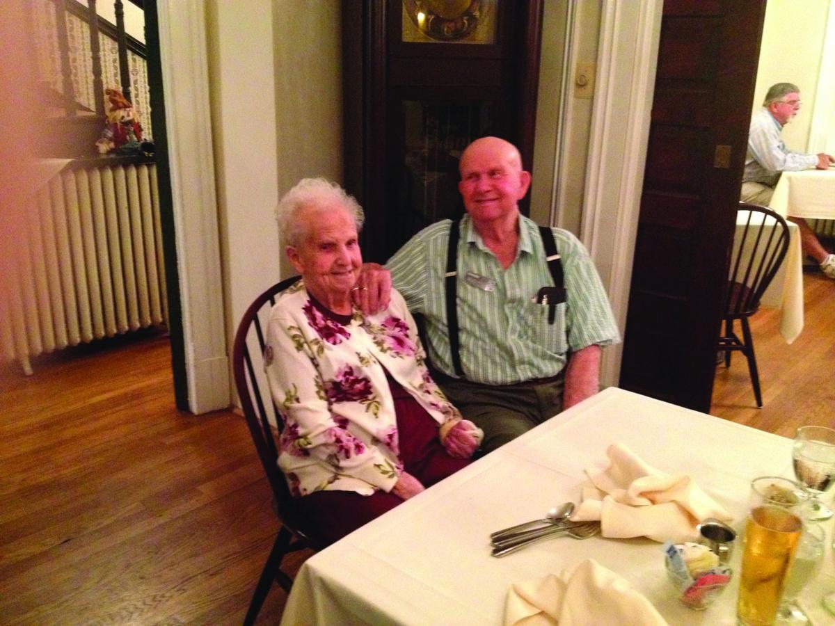 Mr. and Mrs. Bernard Shaff