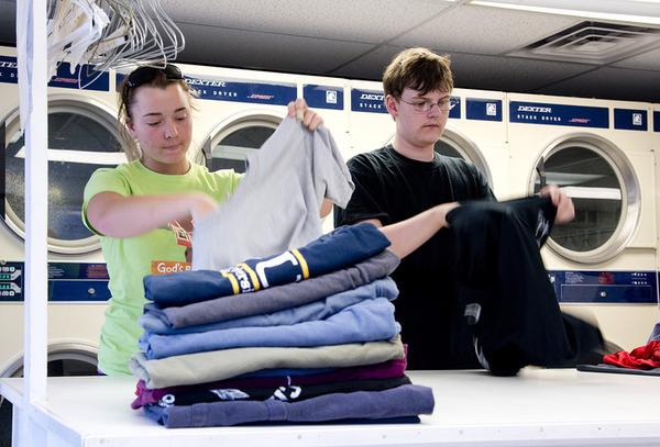 Water bill is laundromat's heavy load