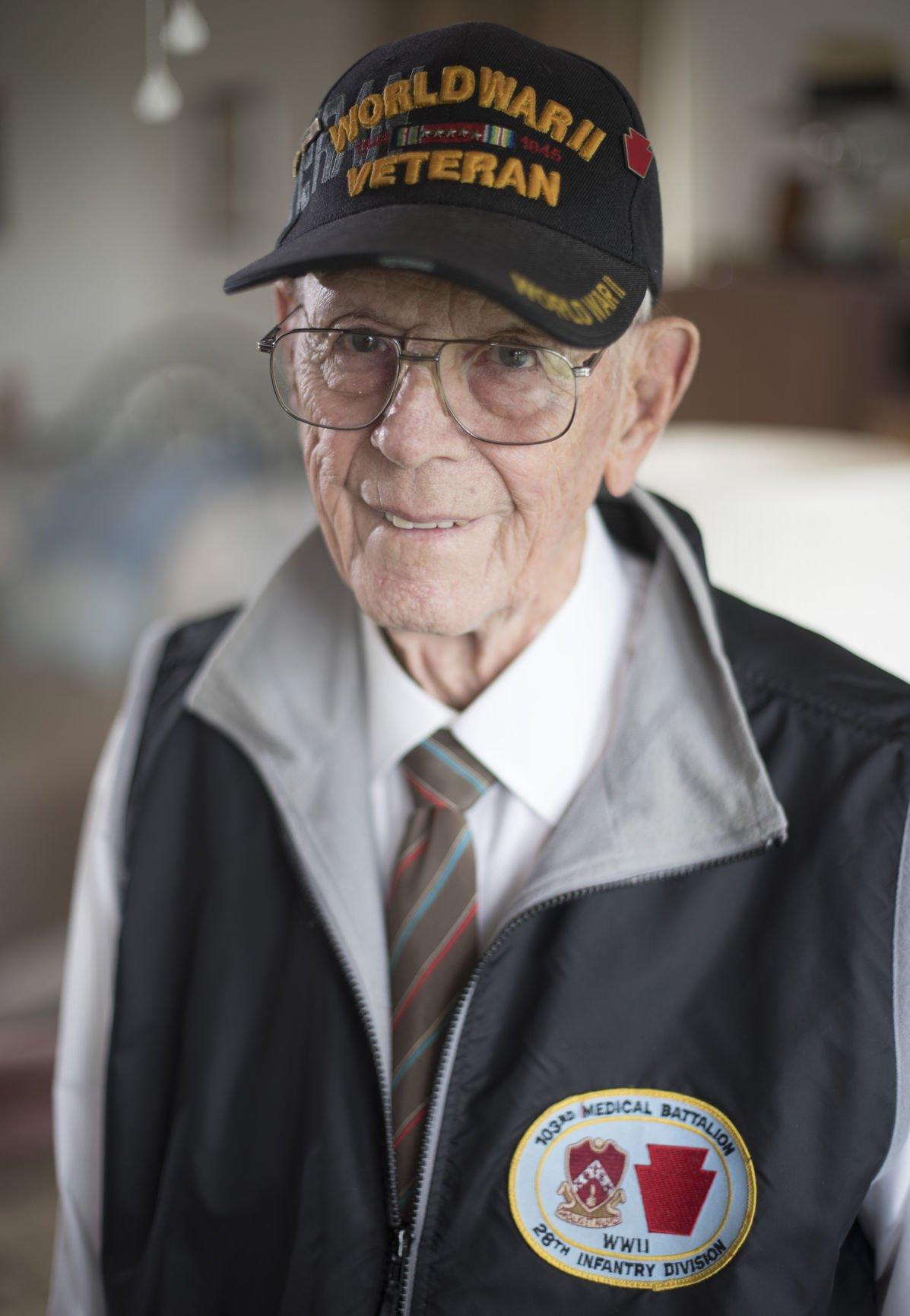 WWII veteran Carl Molter Jr.