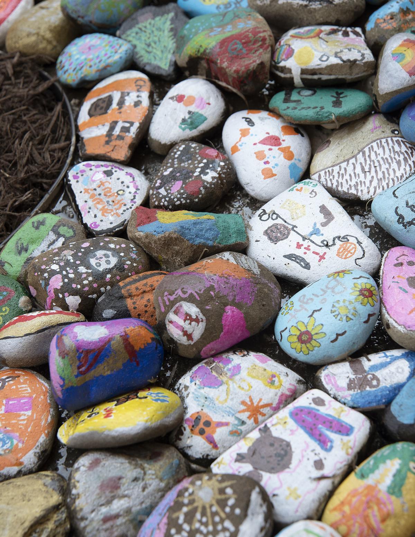 Monocacy ES rock garden unveiling 2