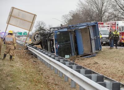 Trash truck driver killed in U S  15 crash   Public