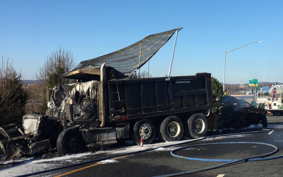 Eyewitness video shows fiery fatal crash following congressional