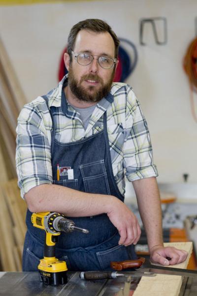 Frederick furniture designer crafts for durability