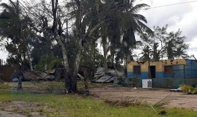 Mozambique hit by new cyclone; 3 dead, flooding feared