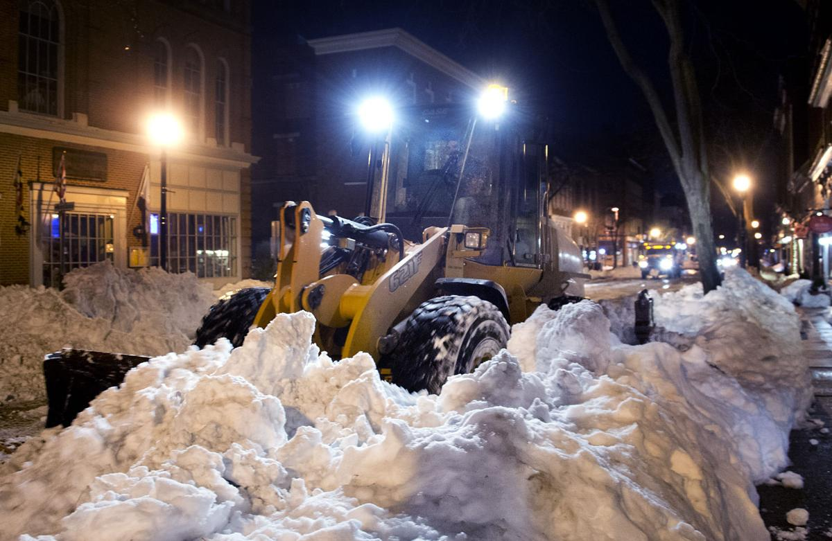 Snow removal continues
