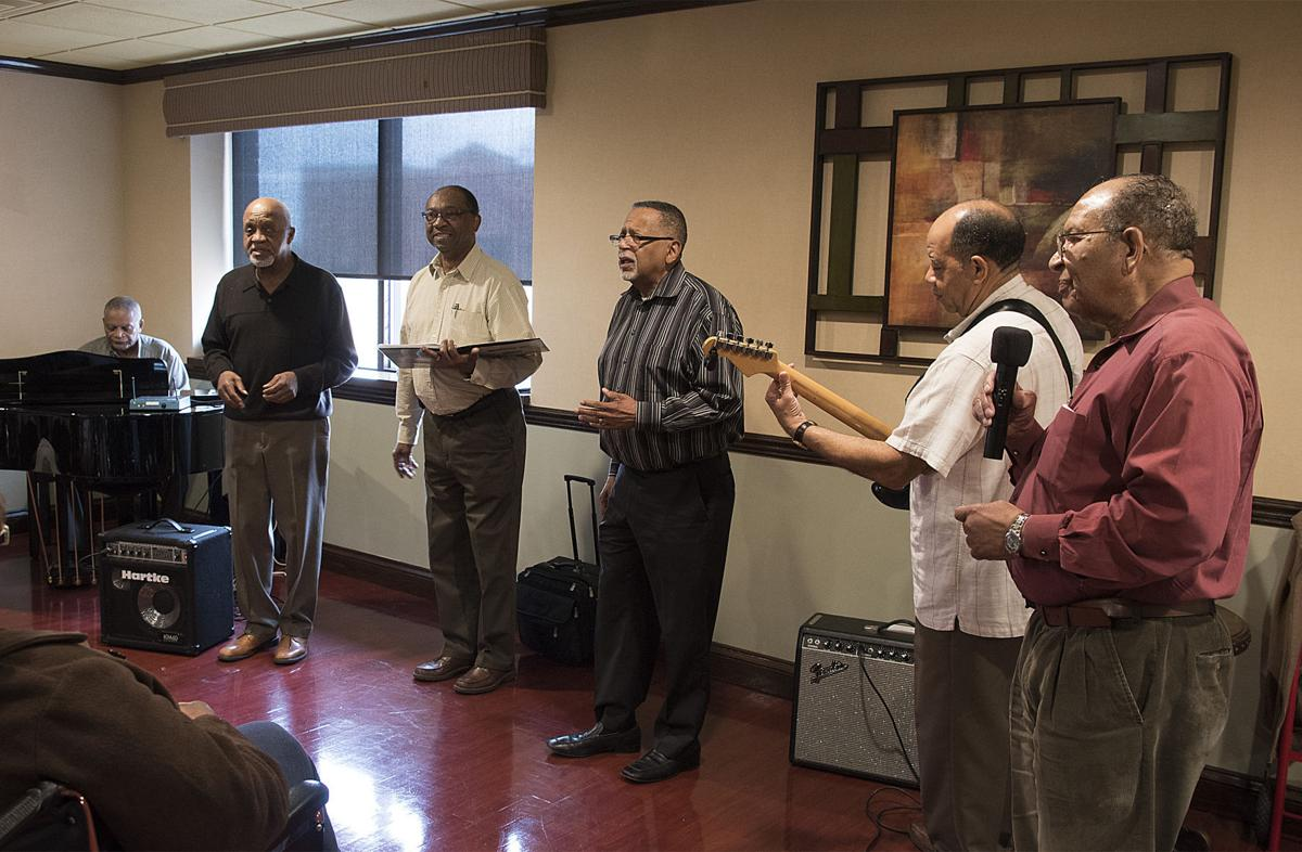 Music to their ears: Local gospel group sings for nursing home residents