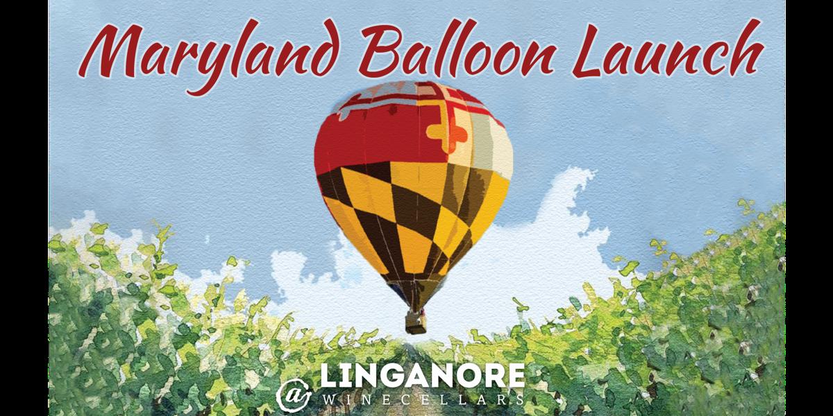 Maryland Flag Balloon Launch