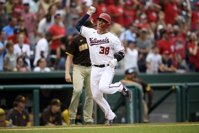 Padres Nationals Baseball