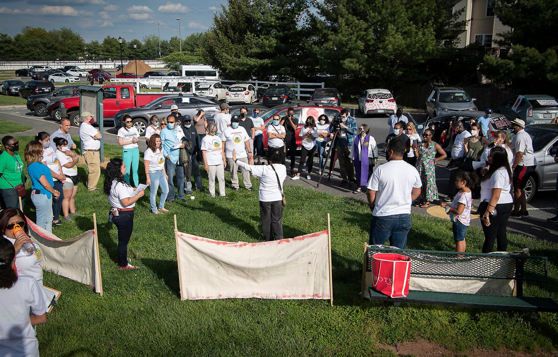 RISE Coalition hosts caravan rally in Frederick for immigrant rights