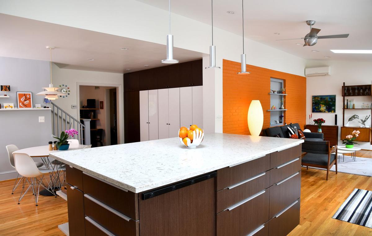 kitchen - Mid Century Modern Kitchen Update