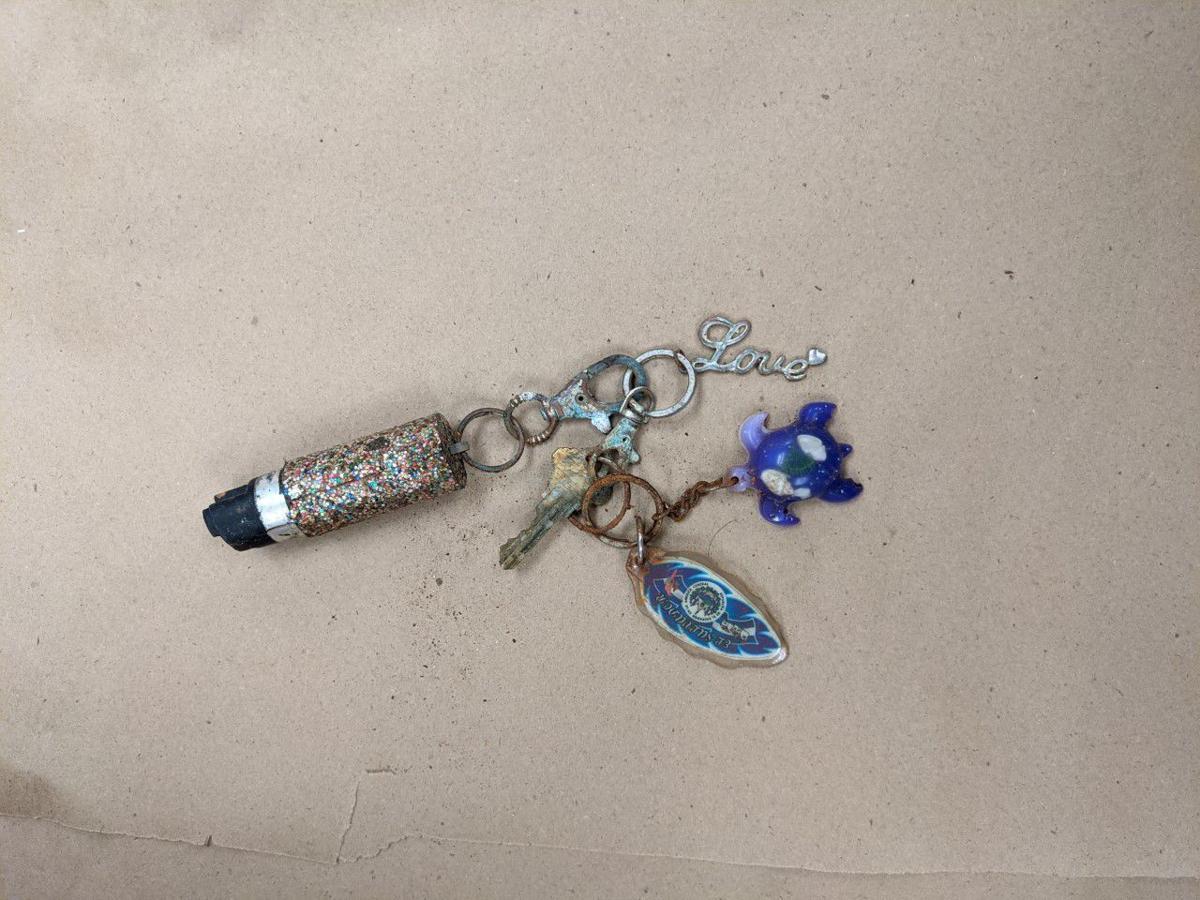 Joanna Michelle Amaya keychain