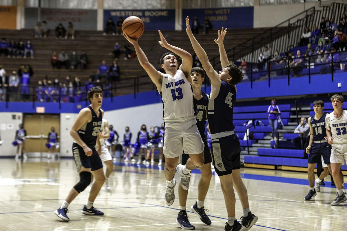 Hot Dogs dominate Tri-West in opening round of sectional play