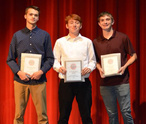 Prairie fall athletes honored last month