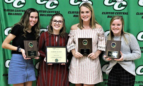 Central fall student-athletes are honored