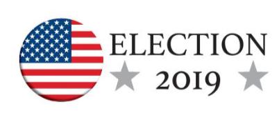 Election 2019 logo