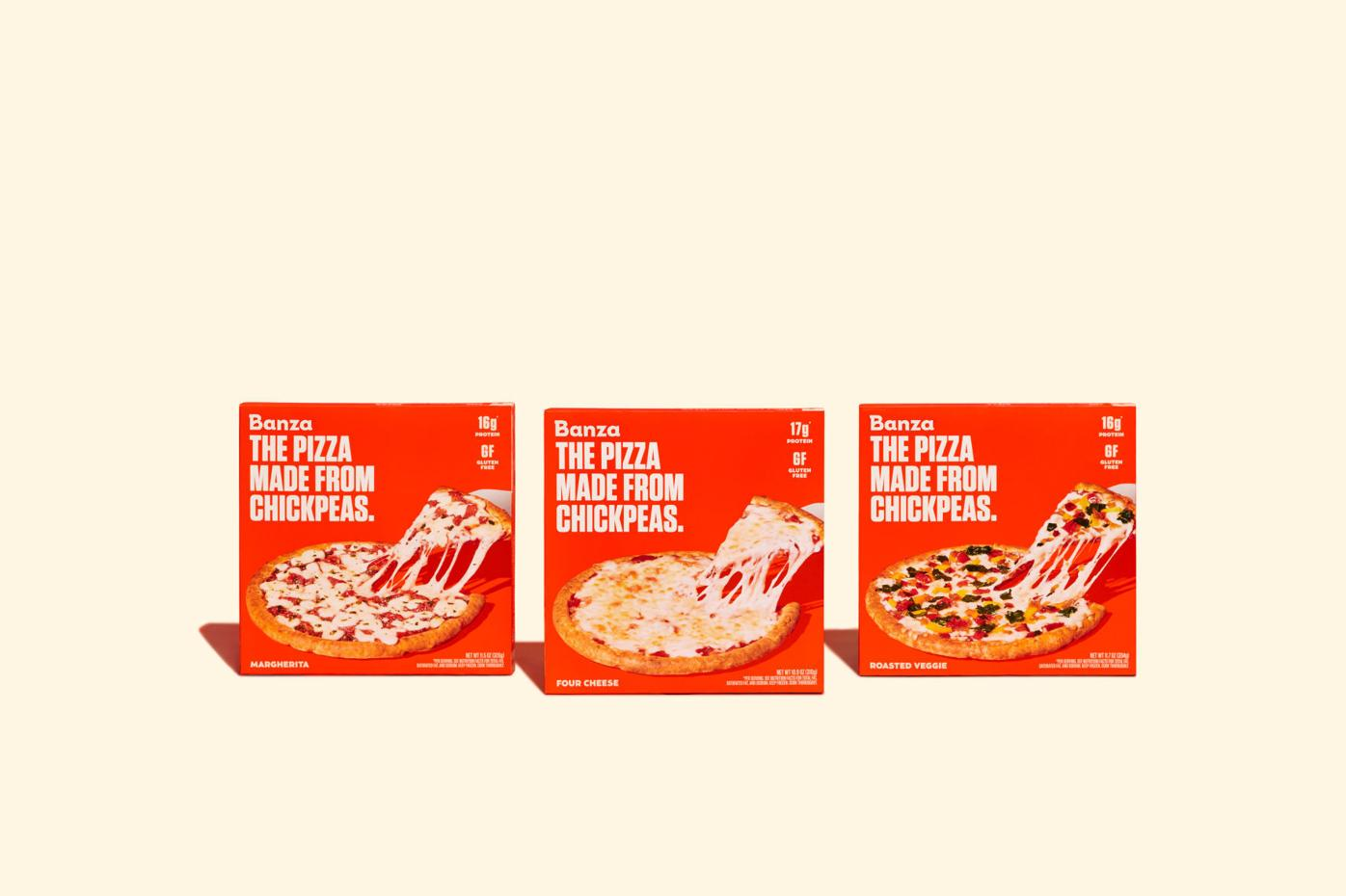 Banza Pizza packaging