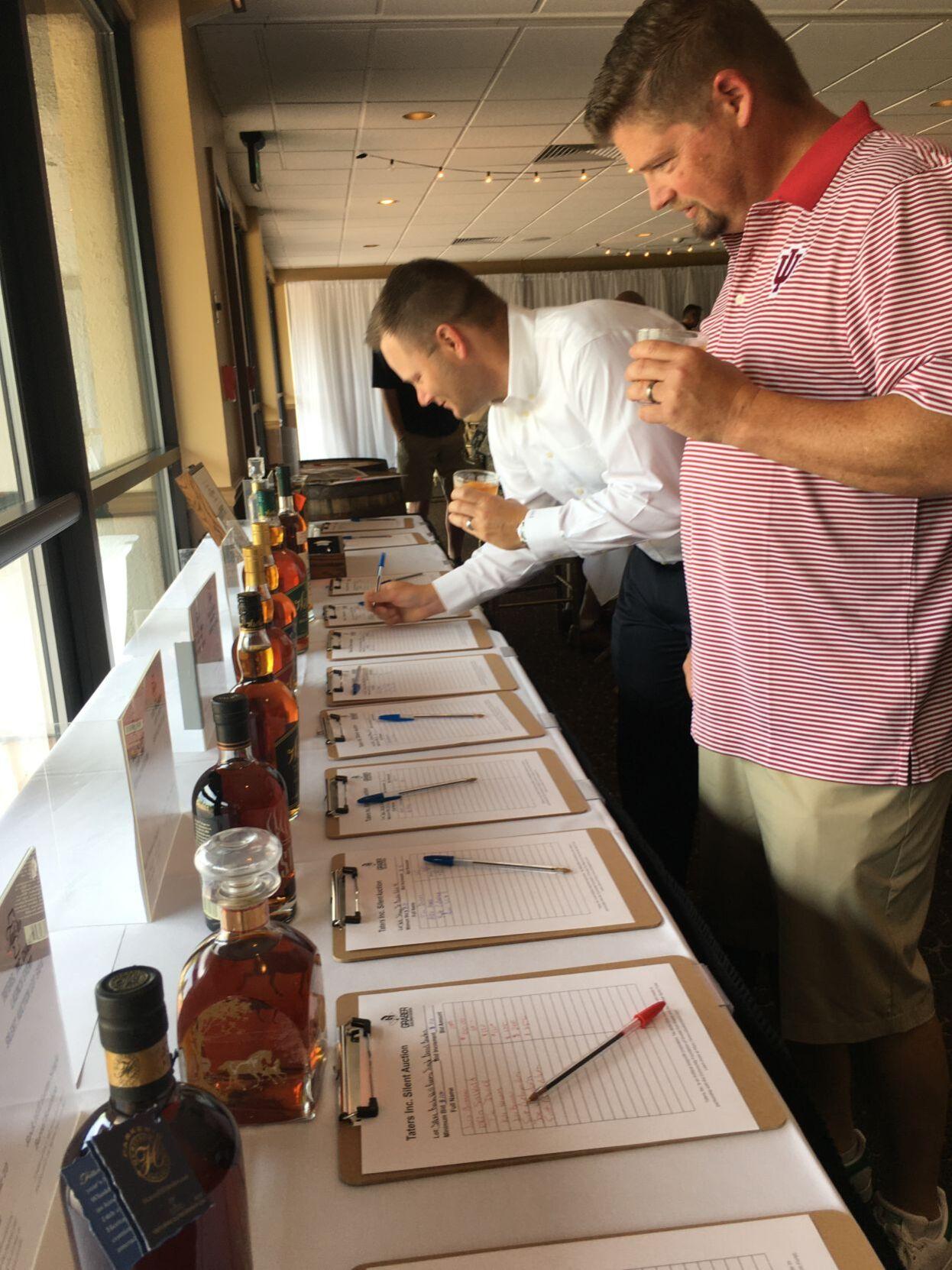 Taters bourbon tasters