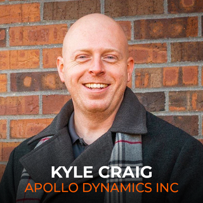 Kyle Craig, founder of Apollo Dynamics in Angola