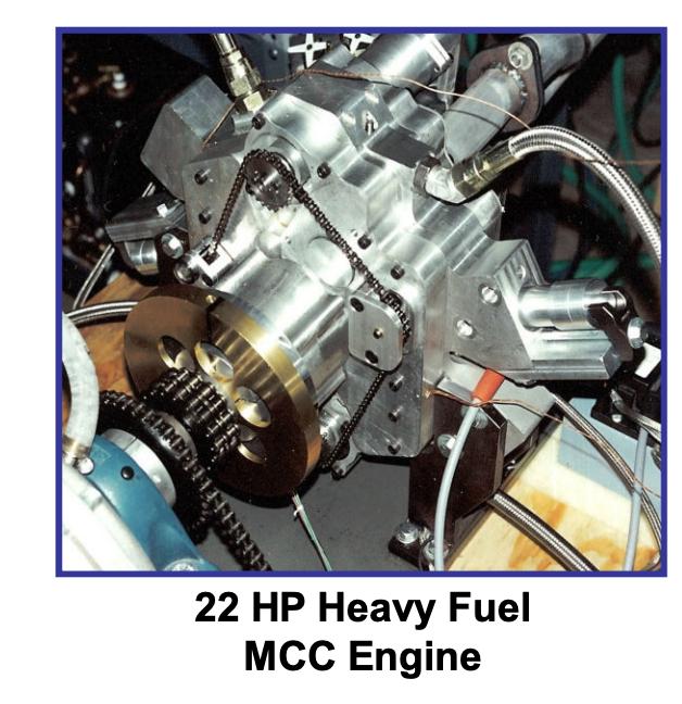 Heavy fuel engine