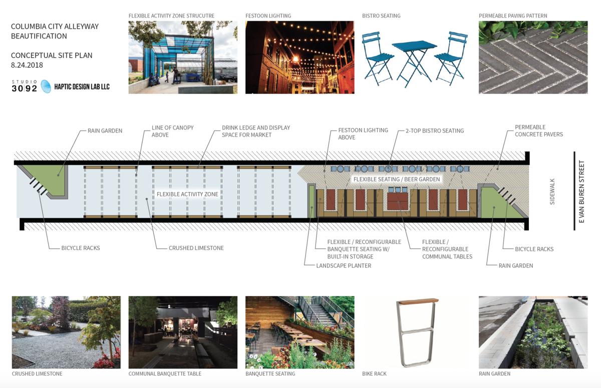 Alley blueprints