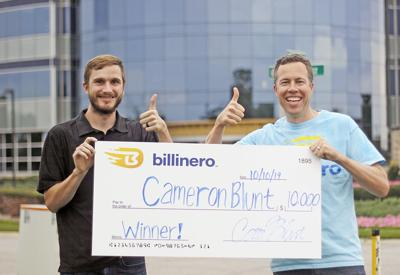 $10,000 winner of the Billinero game launched by Centier Bank