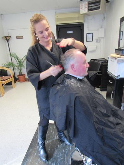 Anna's Barber Shop in New Haven