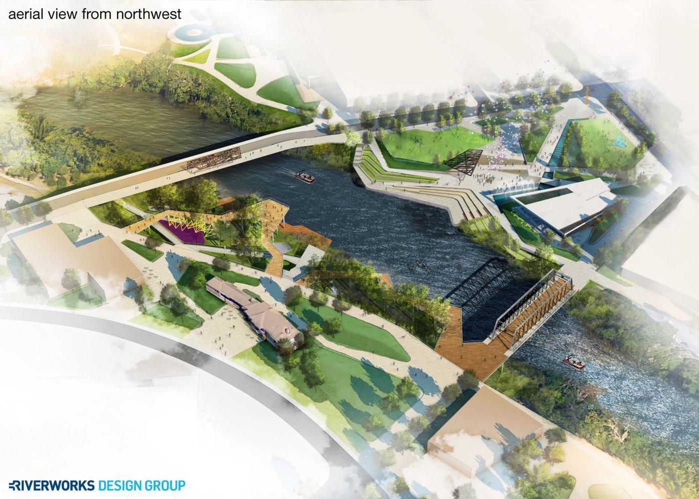 Riverfront renderings