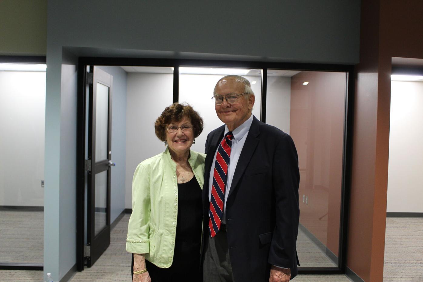 Carolyn and W. Paul Wolf