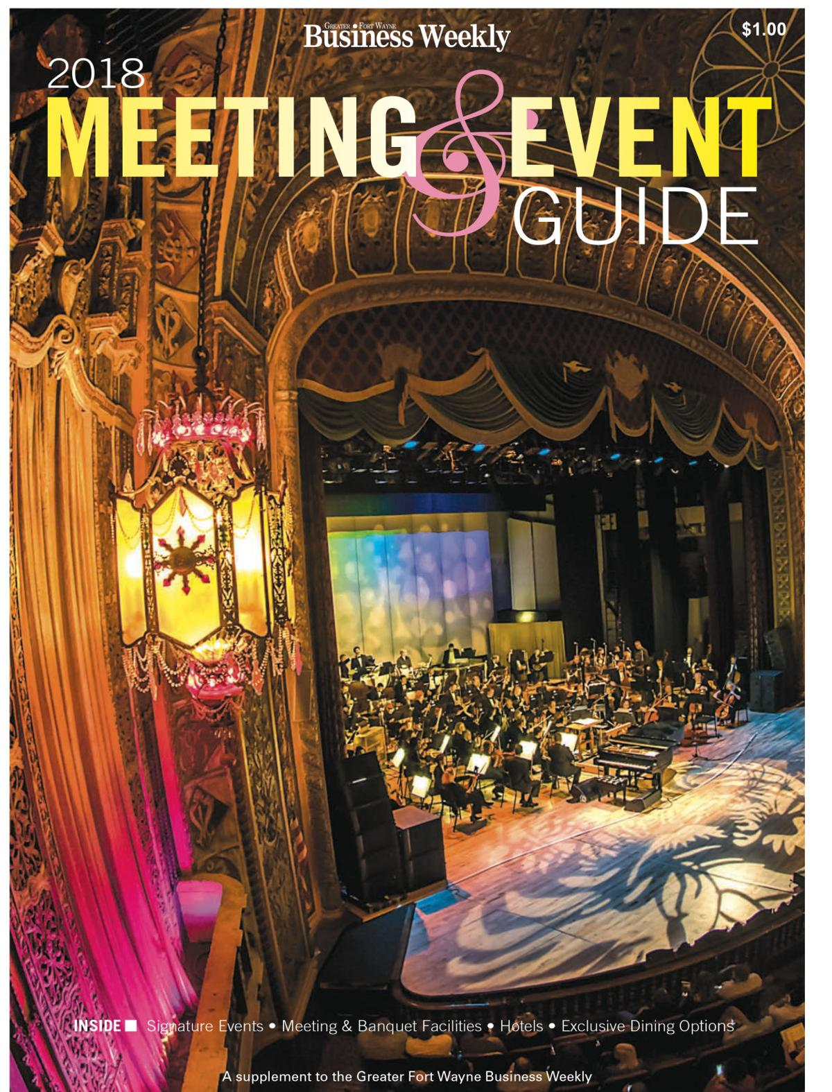 2018 Meeting and Event Guide