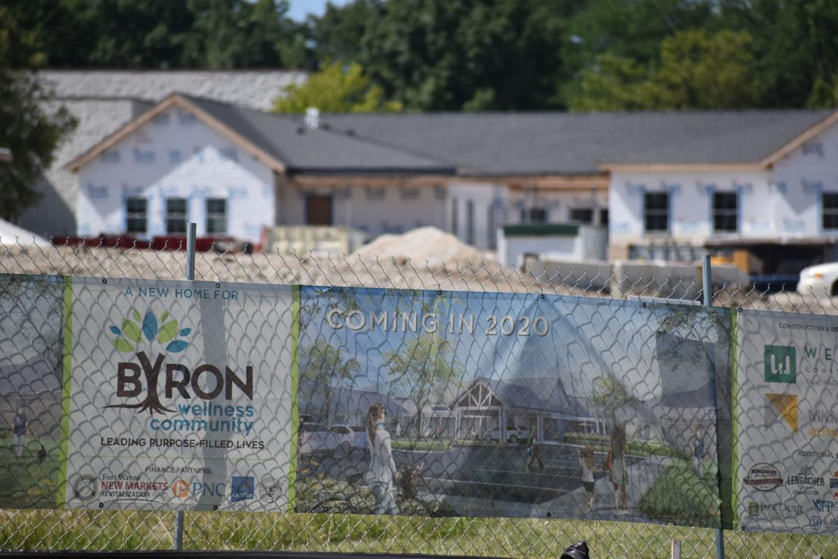 Byron construction site