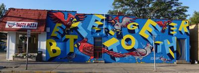Better Together mural