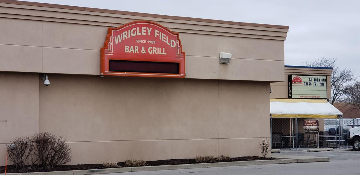 Wrigley Field Bar & Grill at 6527 E. State Blvd. in Fort Wayne