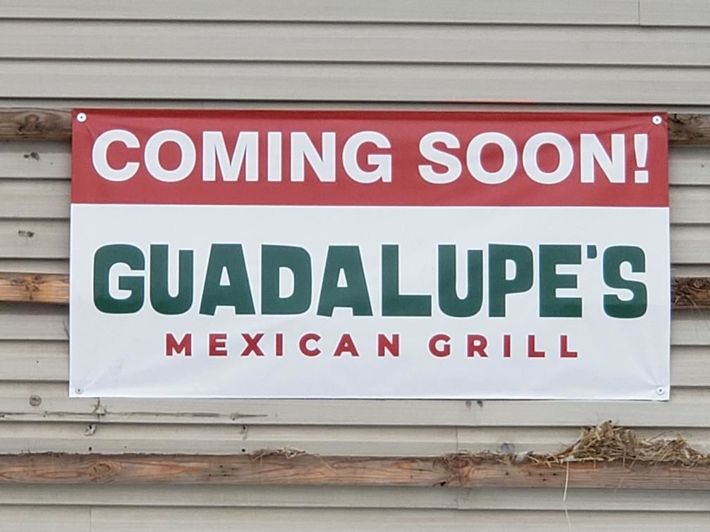Guadalupe's coming soon