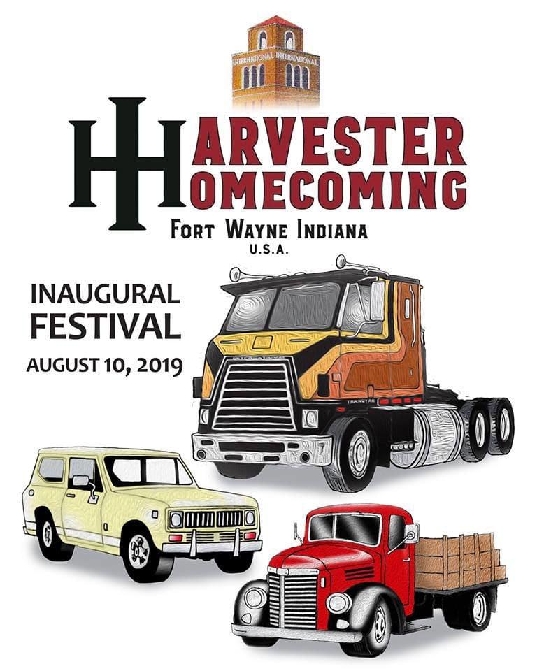 Inaugural Harvester Homecoming poster