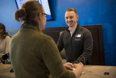 Three Rivers teller opening account for former Flagstar customer