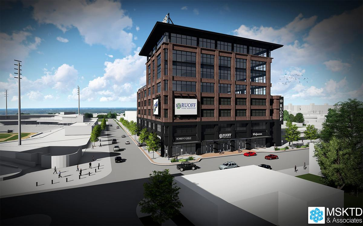 Ruoff Home Mortgage's proposed headquarters