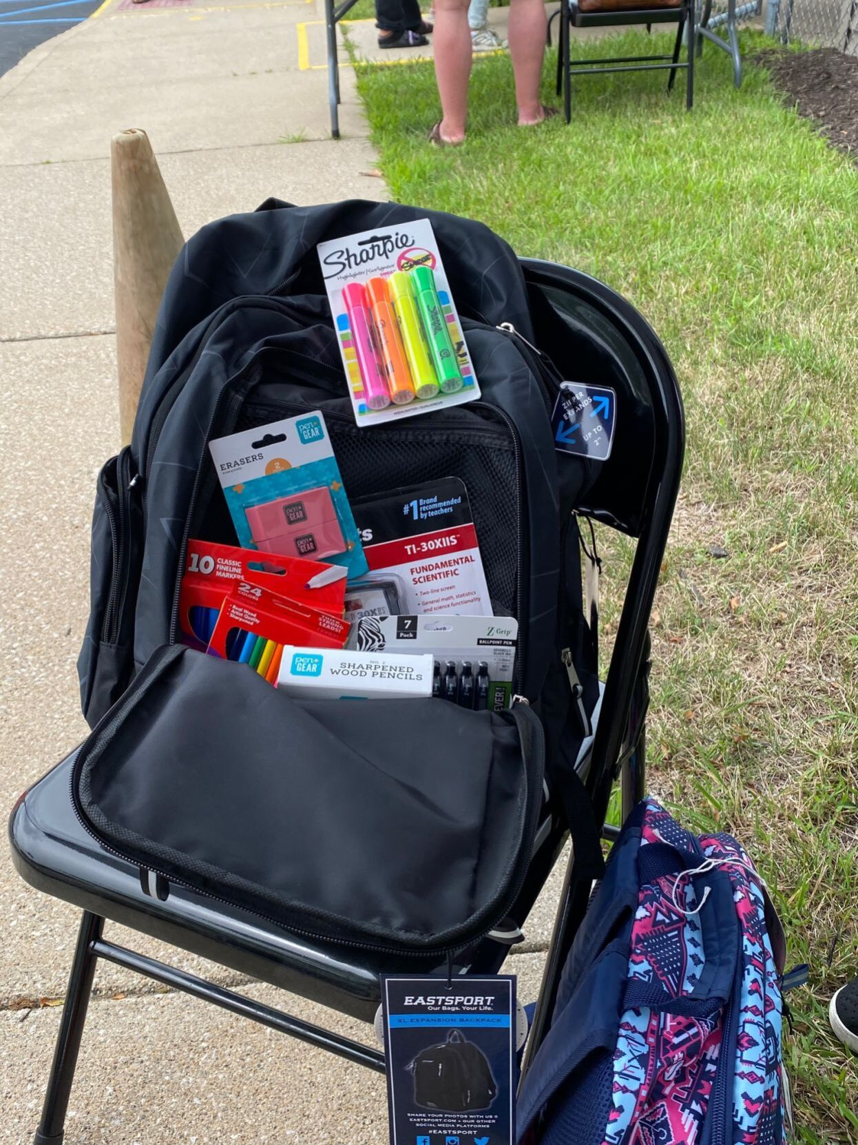 Typical backpack