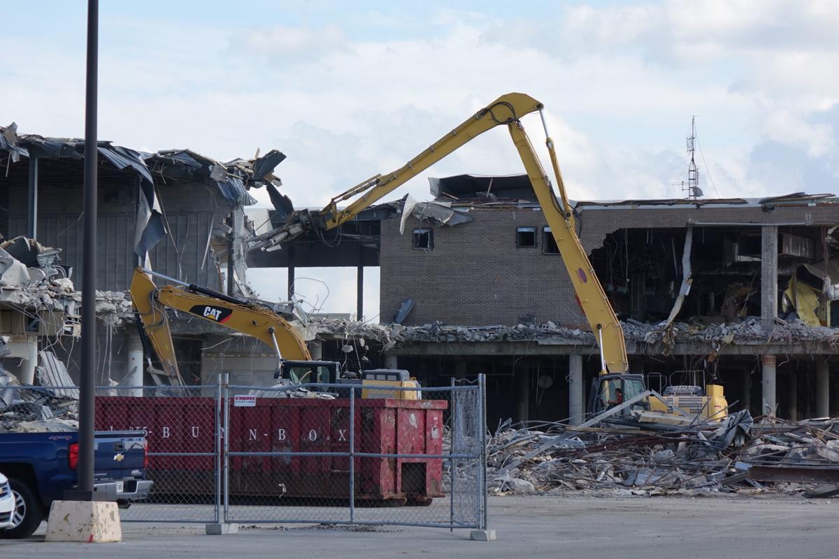 Sears knocked down