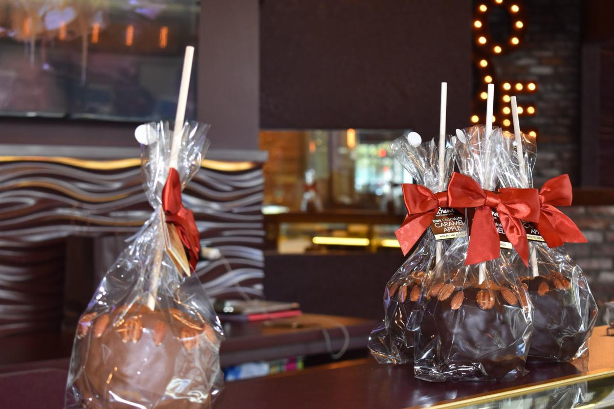DeBrand Fine Chocolates caramel apples in season