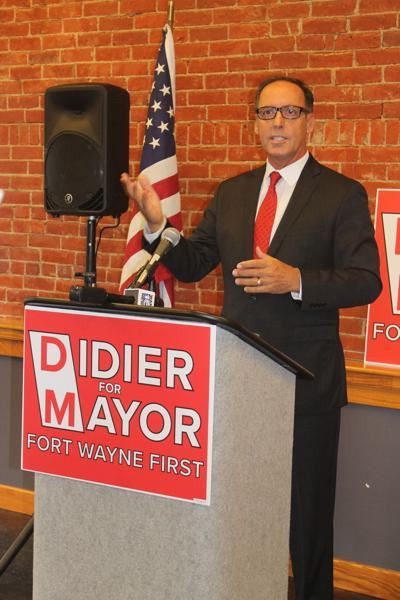 Didier announces run for mayor