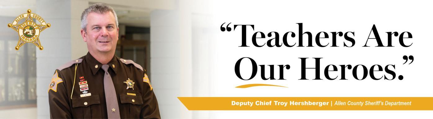Deputy Chief Troy Hershberger